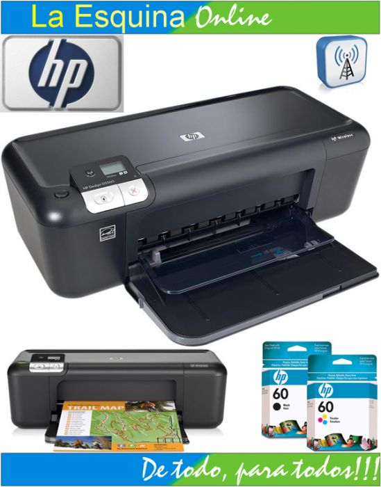 Impresora HP Deskjet D5560 Wireless