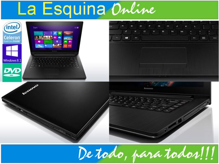 "NB LENOVO G400S INTEL 1005M 1.9GHZ/ 500 GB HDD/ 4GB/14\\\\\\\"", WIN8.1/COLOR BLACK"